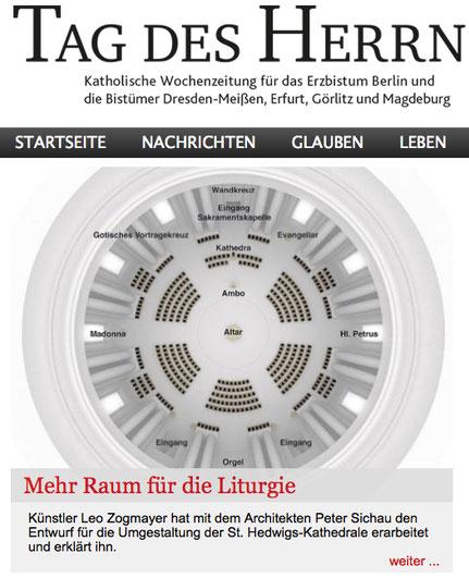Onlinetitel auf der Startseite der Kirchenzeitung _28.09.2017