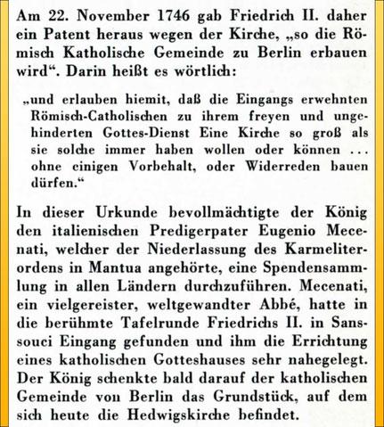 Auszug aus der Veröffentlichung: Endres, Heinz_Die St.-Hedwigs-Kathedrale in Berlin_St.-Benno-Verlag_1963