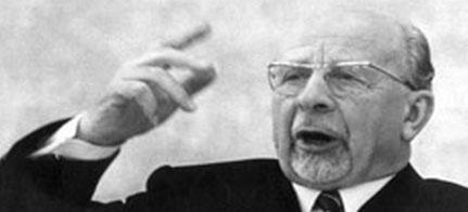 Walter Ulbricht, Vorsitzender des Zentralkomitees der SED