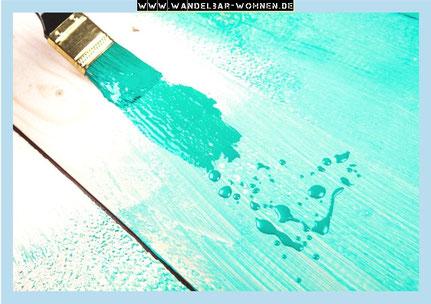 Kommode lasiert, Möbelstück mit Kreidefarbe, Shabby Chic, Möbelbearbeitung, DIY, Selber machen, Anleitung für Kreidefarbe als Lasur, Chalk Paint