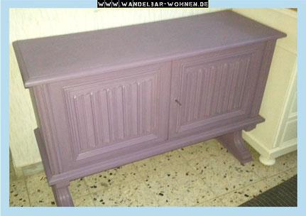 glatt und deckend streichen mit kreidefarbe wandelbar wohnen. Black Bedroom Furniture Sets. Home Design Ideas
