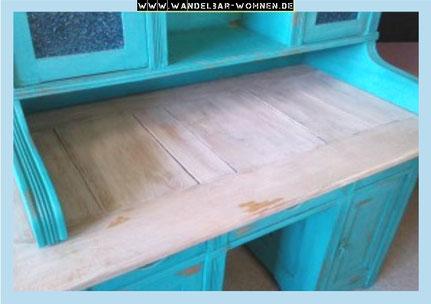 Kommode weißeln, Möbelstück weiße Maserung, Shabby Chic, Möbelbearbeitung, DIY, Landhaus-Stil, Selber machen, Anleitung White Wash