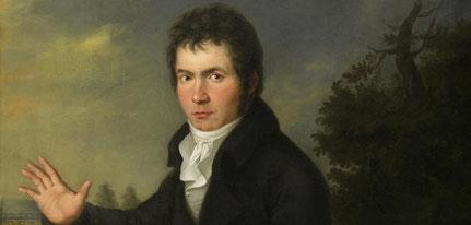 Ludwig van Beethoven. (c) Wien Museum