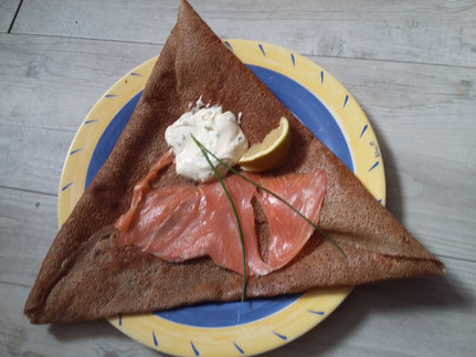 galette saumon