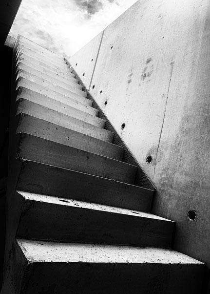 Steil aufwärts - staiway to heaven