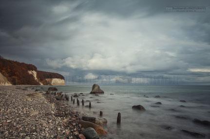 Fotografie Insel im Meer, Swen Burkhardt, Kreideküste, Kreidefelsen