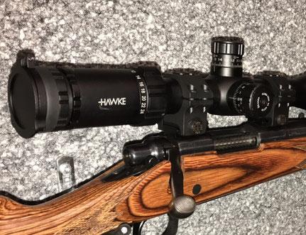 Hawke ZF mit Era-Tac Montage auf Remington 700