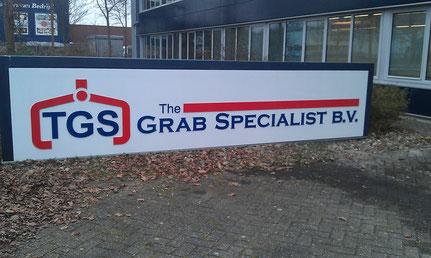 reclamebord TGS