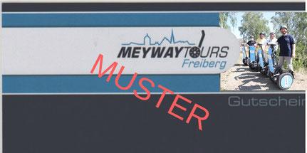 Gutschein für eine Segwaytour in Freiberg und Umgebung mit Meyway