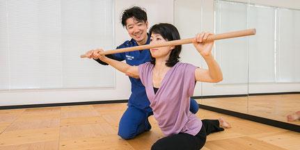 体幹トレーニングのパーソナルトレーニング。マンツーマンの指導でパフォーマンスアップを。