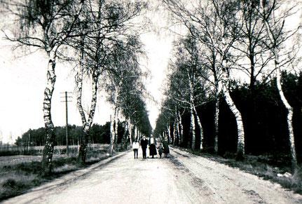 so hat die Lahauser Straße noch 1940 ausgesehn