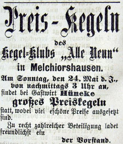 Syker Zeitung 21.05.1903