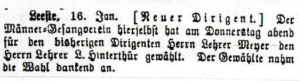 Syker Zeitung 19.1.1904