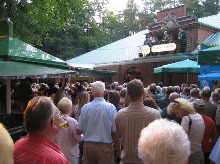 Die Schützenfeste bilden einen Höhepunkt im Melchiorshauser Dorfleben
