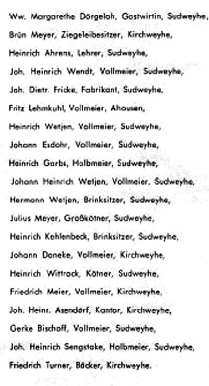 Die 20 Gründungsmitglieder