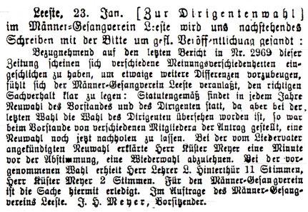 Syker Zeitung 26.1.1904