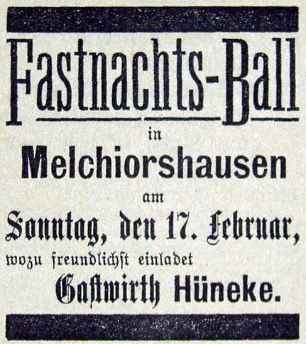 Syker Zeitung 14.02.1901