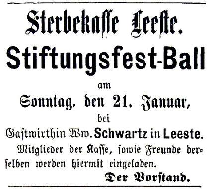 Syker Zeitung 18. 1. 1894