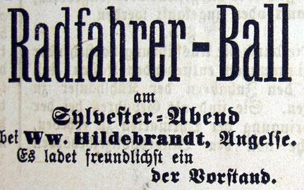 Syker Zeitung 29.12.1904