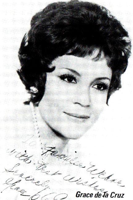 Als Gast die Opernsängerin Grace de la Cruz, Sopran