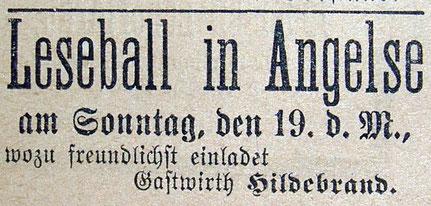 Syker Zeitung 18.11.1899