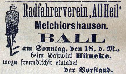 Syker Zeitung 17.03.1906