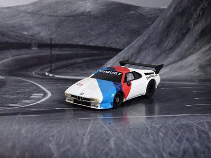 Faller AMS AURORA AFX BMW M1 ProCar, Team BMW Motorsport, Nelson Piquet
