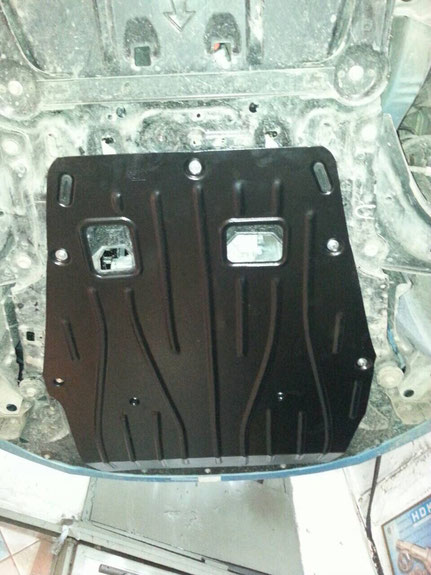 Установка защиты моторного отсека