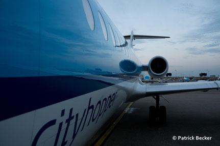 AMS-DUS 05. 08. 2015 KLM F70 PH-KZK