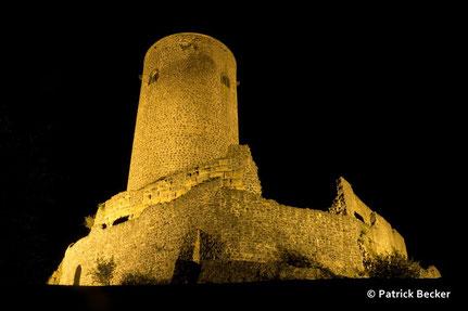 Burg Münzenberg Wetterauer Tintenfass 24. 10. 2015