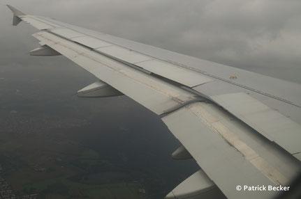 CDG-FRA Rückflug 25. 08. 2014