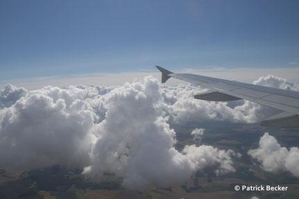 FRA-CDG Hinflug 20. 08. 14