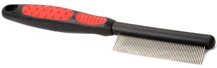 Расчёска со средними зубьями