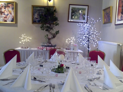 Salle de réception, banquet, pour mariage, anniversaires, repas d'anniversaire, entre Laon et Soissons (02)