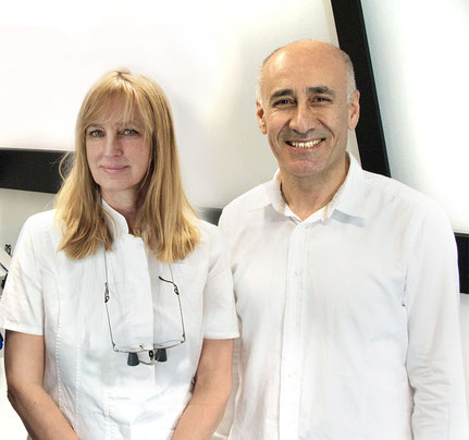 Zahnärzte: A. Wahl und Dr. F. Bisso