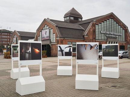 Schulprojekt Breaking Point zur 7. Triennale der Photographie 2018
