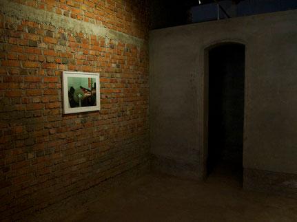 'Inside Out Kochi', Teilansicht, Cochin Muziris Biennale, Kochi, Indien 2014/15
