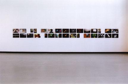 'Loch im Kopf', Teilansicht, Hamburger Kunsthalle, 2005
