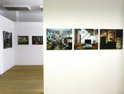 'Public Private Hanoi', Teilansicht, Freelens Galerie, Hamburg 2011