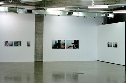 'Herz der Finsternis', Teilansicht, St. Paul Street Gallery, Auckland, Neuseeland 2007