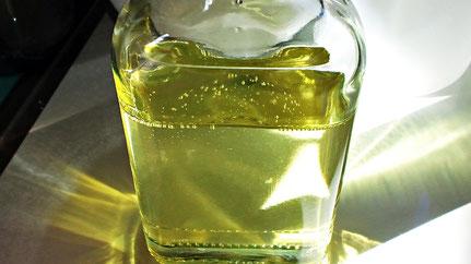 高森幸雄 サンシックンドオイルを手作りする Making sun-thickened oil
