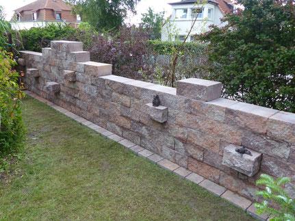 Gartenmauer torsten schlicht gartenplanung visualisierung hannover - Gartenplanung hannover ...