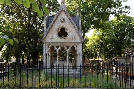 Le mausolée d'Héloïse et d'Abélard