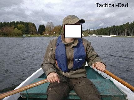 Alltag für mich als Jagdaufseher: Fußstreife, motorisierte Streife und die Streife mit dem Ruderboot