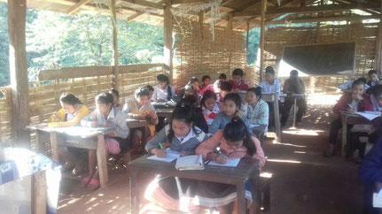 Ecole actuelle de Ban Vieng Sa