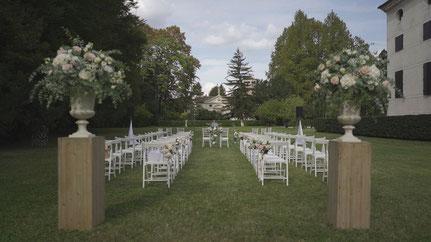 Wedding at Villa Foscarini Rossi, Villa Foscarini Rossi, Wedding in Venezia, Outdoor Civil Wedding Video, Wedding Video in Veneto