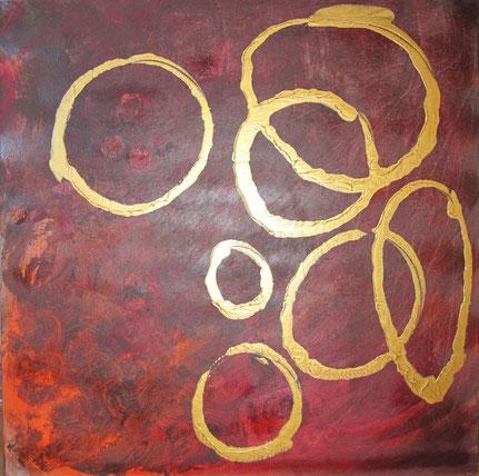 Nr. 2010-HO-034: 80 x 80 cm, Acryl auf MDF