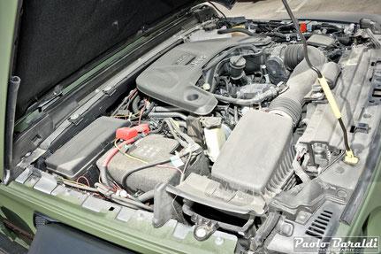 motore Pentastar V6 da 3,6 litri che eroga 285 cavalli e 352 Nm