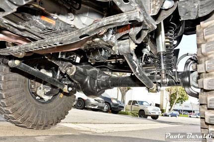 """Sospensioni anteriori +4"""" per Jeep Wrangler JL modello Extreme Overland realizzate da EVO Manufacturing"""