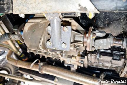 Il cambio manuale ed il riduttore sono del TD5